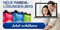 Neuen 2013er Serie Panda Security