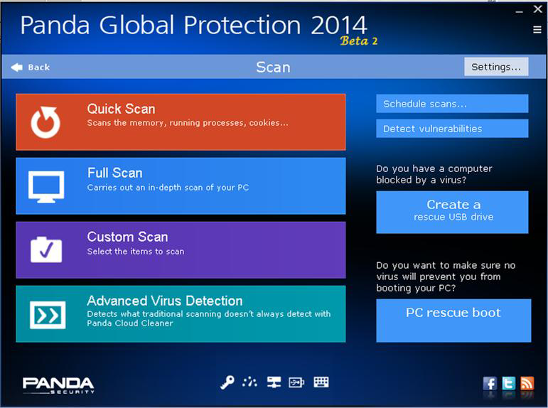 Panda Global Protection 2014 Beta
