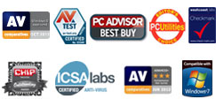 Récompenses & Comparatifs Internet Security 2012