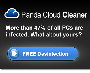 Panda Cloud Cleaner. Free Desinfection