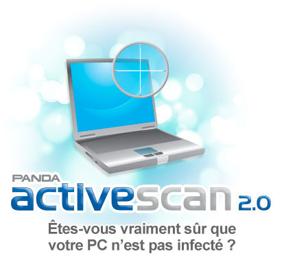 Panda ActiveScan 2.0 - Scan Antivirus Gratuit - Vrifiez que votre PC n'est pas infect !