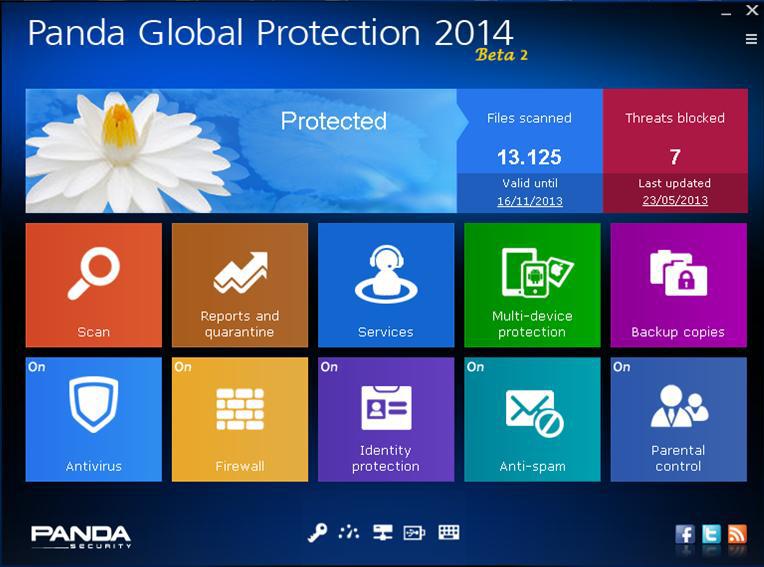 panda global protection 2014 beta