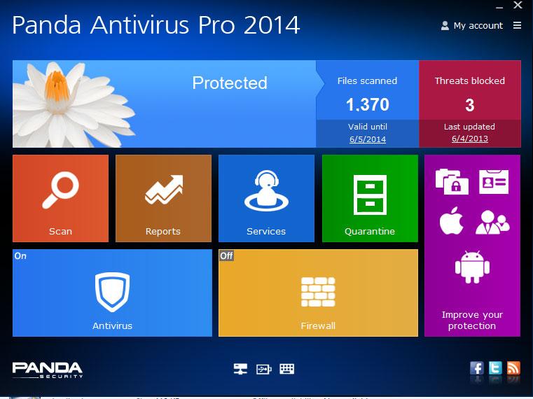 panda antivirus 2014 gratuit